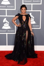 Ashanti in Tony Ward Couture - Getty Images