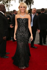 Carrie Underwood in Roberto Cavalli - Getty Images
