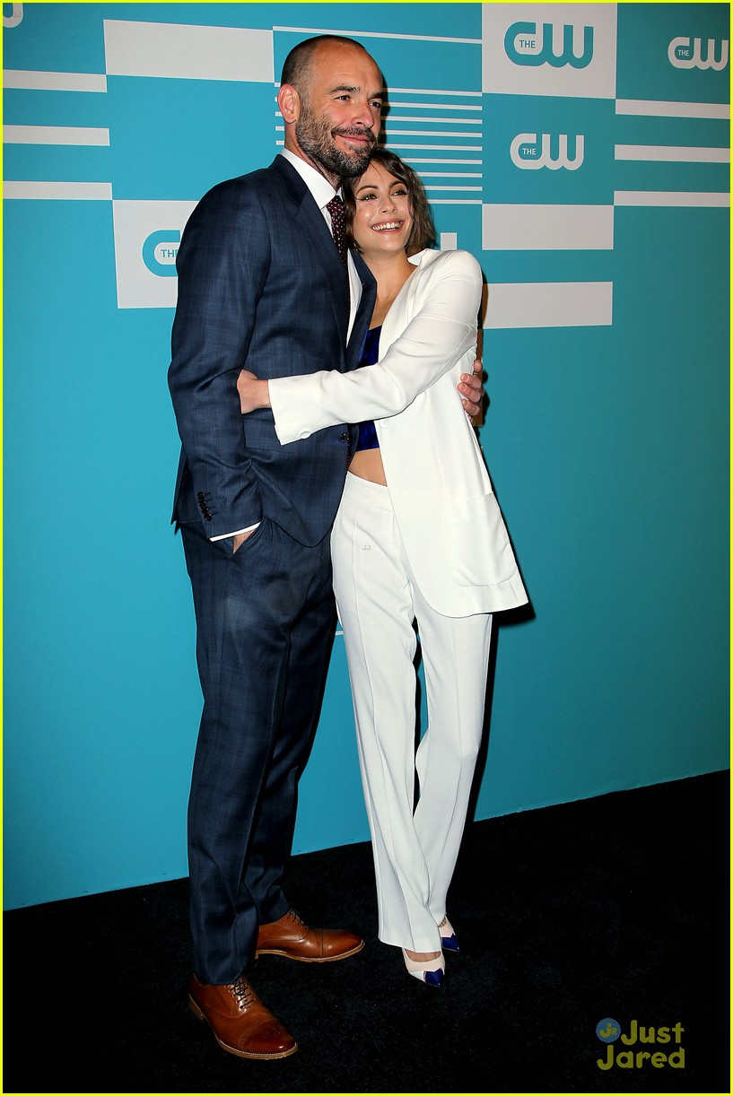 -New York, 5/14/15 - CW Upfront Presentation 2015.  -PICTURED: Paul Blackthorne and Willa Holland -PHOTO by: Aurora Rose/Starpix -Filename AUR_0154 -Location: London Hotel   Editorial - Rights Managed Image - Please contact www.startraksphoto.com for licensing fee Startraks Photo New York, NY For licensing please call 212-414-9464 or email sales@startraksphoto.com